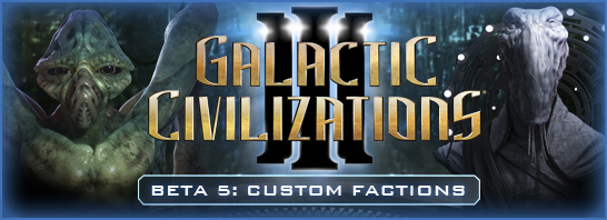 Design the Race of Your Dreams in Galactic Civilizations III Beta