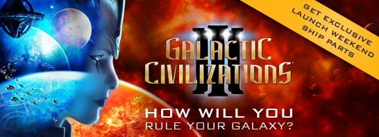 Your Galaxy, Your Rules: Galactic  Civilizations III Now Available