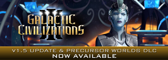 Galactic Civilizations III Gets Big Diplomacy Update, New Types of Planets in this Week's 1.5 Update and DLC Release!