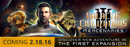 Stardock announces Mercenaries, the first expansion to Galactic Civilizations III