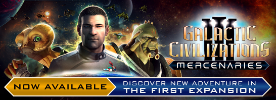 Stardock Releases Mercenaries, the First Expansion to Galactic Civilizations III