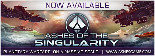 Massive Scale Real-Time Strategy Game,  Ashes of the Singularity Released Today