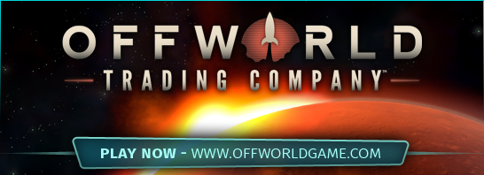 Soren Johnson's Offworld Trading Company Releases Today