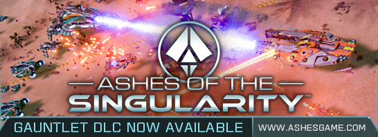 Ashes of the Singularity Gauntlet DLC adds New Scenario, Maps, and More