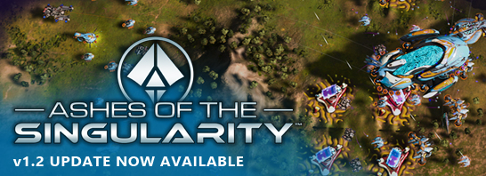 Ashes of the Singularity v1.2 adds Newly Enhanced Campaign, New Units, Global Chat, and More