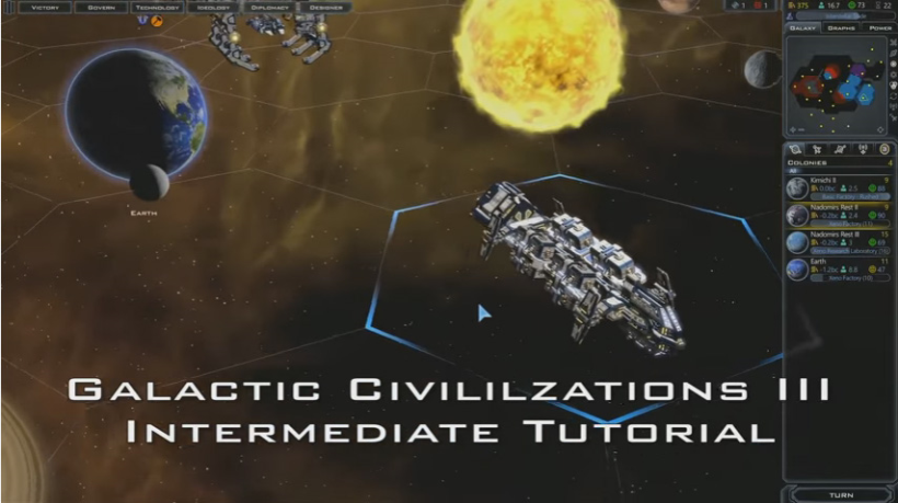 Galactic Civilizations III Intermediate Tutorial
