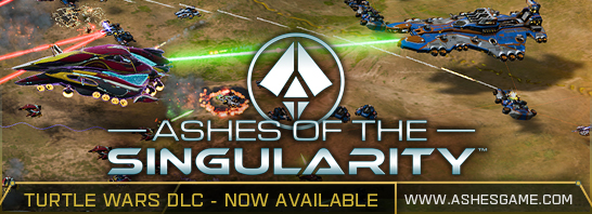 Ashes of the Singularity Turtle Wars DLC adds New Scenarios, Maps, and More