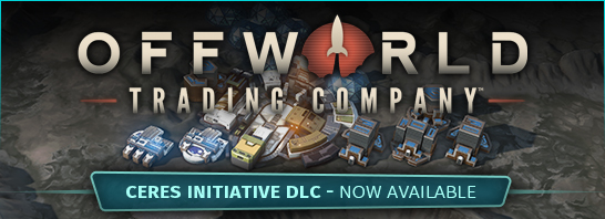 Stardock Releases Ceres Initiative DLC for Offworld Trading Company Today