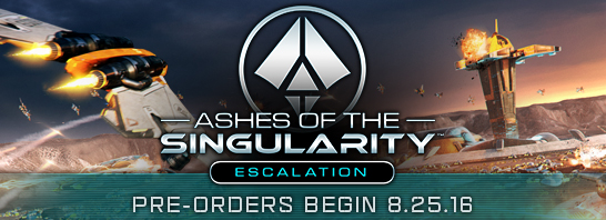 Ashes of the Singularity: Escalation increases map size, player count, unit types, adds strategic zoom and more