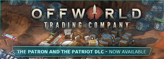 Offworld Trading Company: The Patron and the Patriot released