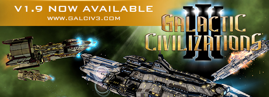 Galactic Civilizations III 1.9 Update Introduces Better Optimization, Improvements to A.I., and More