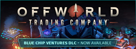 "Soren Johnson's Offworld Trading Company Releases new ""Blue Chip Ventures"" DLC"