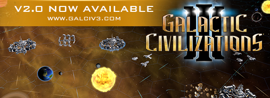 Stardock Announces Galactic Civilizations III v2.0 Update and Special Steam Weekend Sale