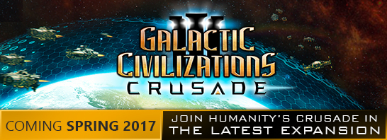Stardock announces Crusade, the highly anticipated expansion for Galactic Civilizations III