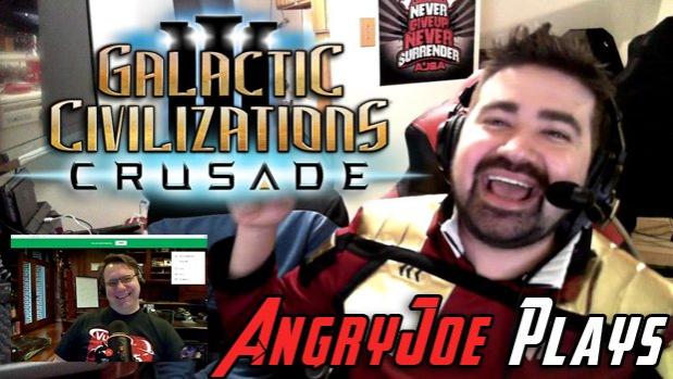 AngryJoe vs. Stardock's Brad Wardell in Crusade!