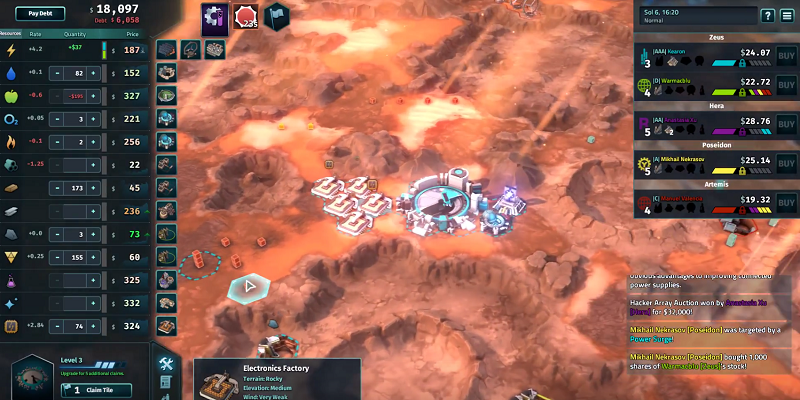 eXplorminate plays Offworld Trading Company!