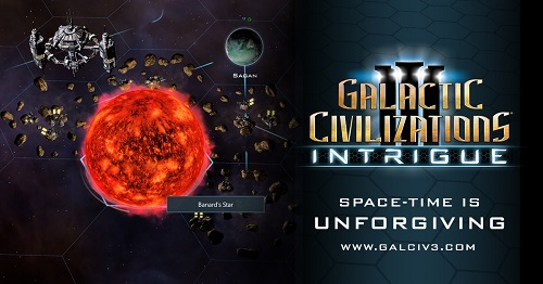 GalCiv III: Intrigue Journal #1: Space-Time is unforgiving