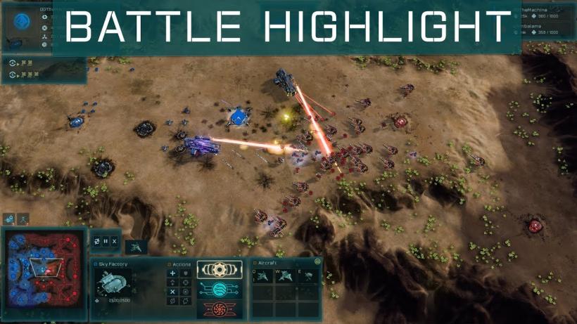 Ashes of the Singularity: Escalation - Battle Highlight vs Shimbalama on Europa