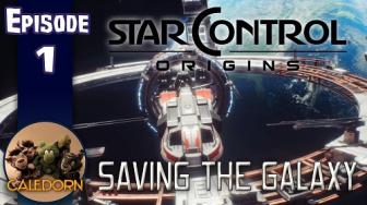 Caledorn's Let's Play videos of Star Control: Origins!
