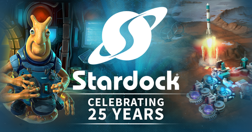 Save up to 80% on games and 50% on all software during our 25th Anniversary Sale!