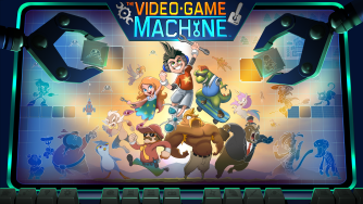 Now Announcing: The Video Game Machine - The Game that Makes Games!