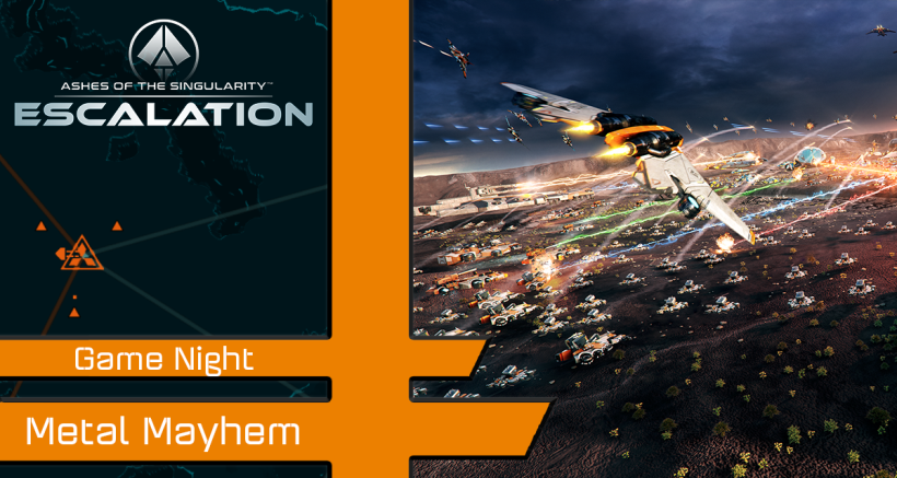 Ashes Game Events: Metal Mayhem – May 13th – 16th 2020