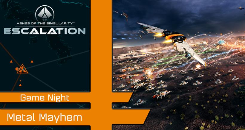 Community Games: Metal Mayhem – August 8th 2020